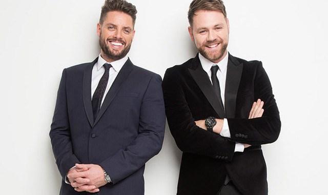 Boyzone 的 Keith Duffy 与 Westlife 的 Brian McFadden组成Boyzlife乐队