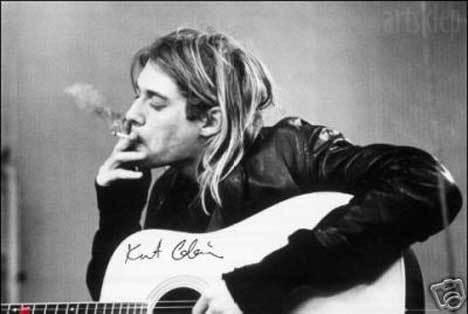 「摇滚客」20个你所不知道关于Kurt Cobain的祕密