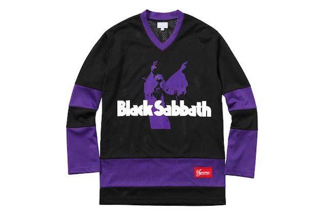 潮流随我! Black Sabbath 与 Supreme 合作推出服饰